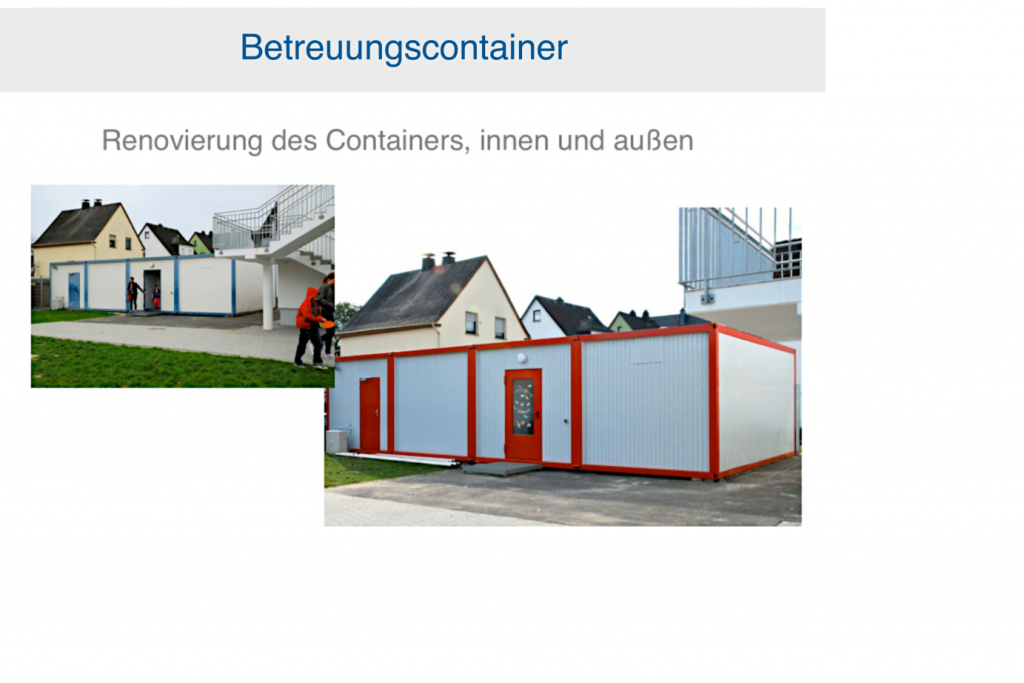 Betreuungscontainer